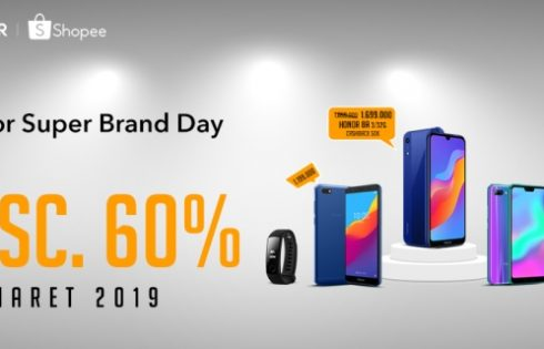 Beli HONOR 10 Lite dan HONOR 8A di Shopee Super Brand Day Diskon Besar-besaran